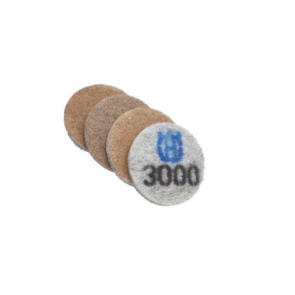 "HiperClean Pads KISSEN | HiperCleanPad 9"" K400 PG530/680"