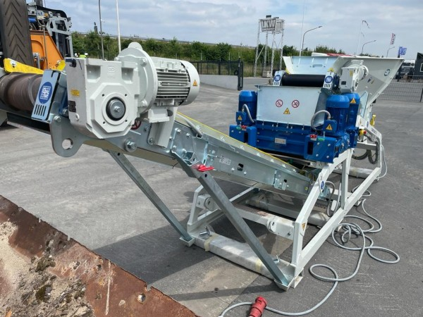 UTS 600 Bauschuttschredder - 2 Wellen Zerkleinerer